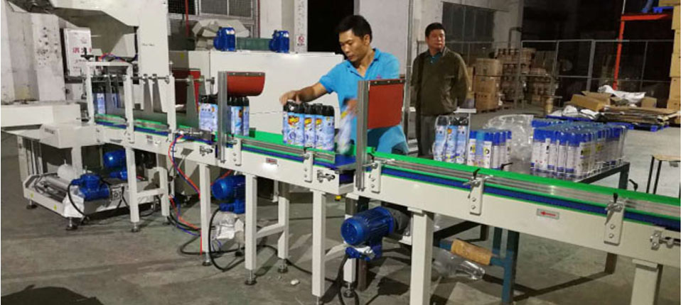 Can insecticides be packaged with a shrink sleeve machine ?