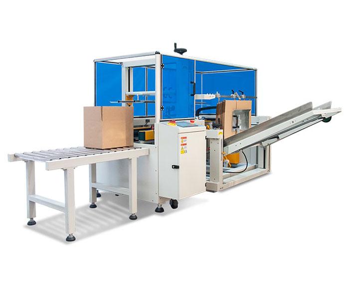 Automatic edible oil carton erector machine