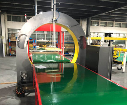 Orbital Wrapping Machines And Packing Lines Provide Dedicate Packaging to Door Frames And Windows