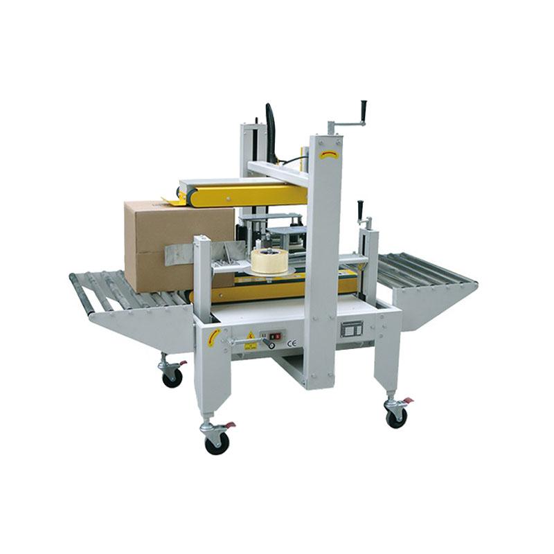 Two sides carton sealer