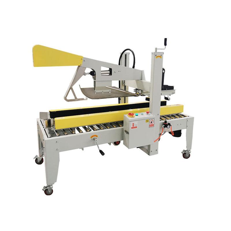 Semi-auto carton folding sealer